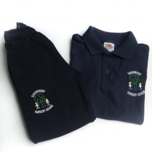 Sandbrook Nursery Navy Jogging Bottoms