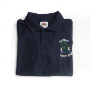 Sandbrook Nursery Navy Polo Shirt