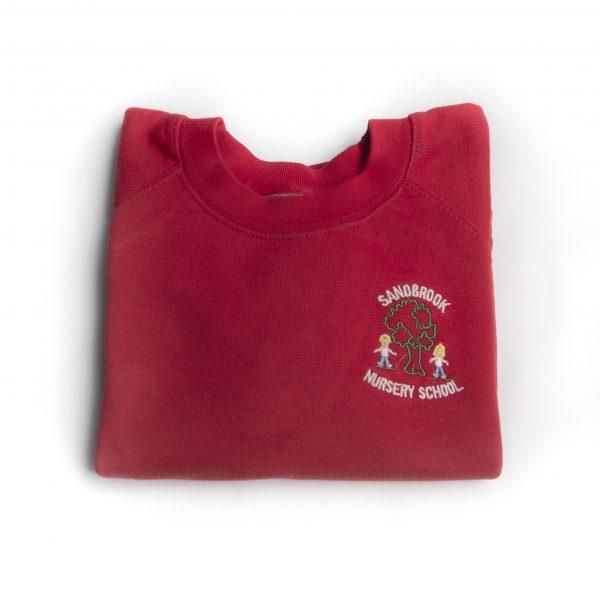 Sandbrook Nursery Red Sweatshirt