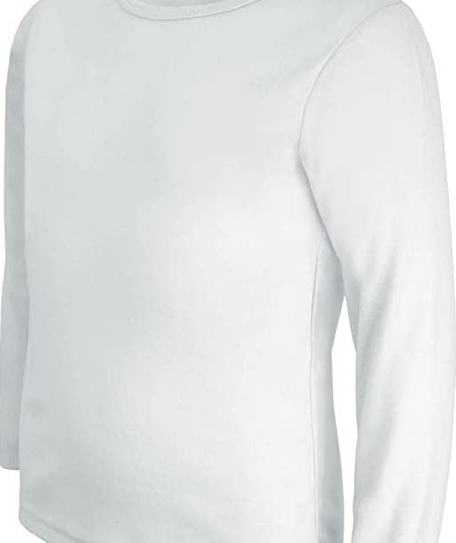 Long-Sleeved White T-Shirt